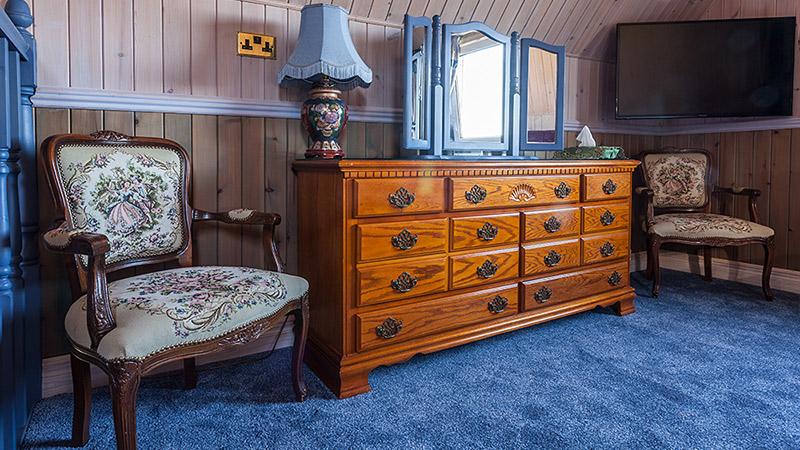 Ptarmigan spacious accommodation