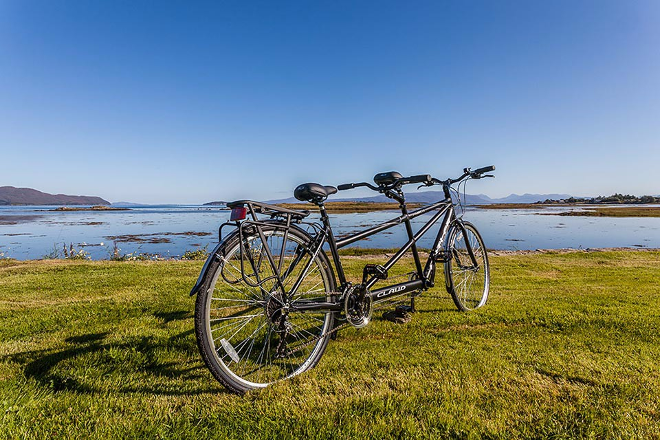 tandem-bike-ptarmigan-self-catering-accommodation-broadford-skye